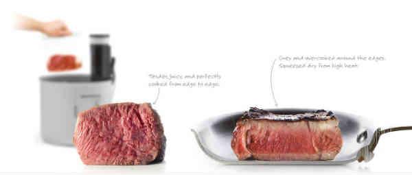 tilbered kød til perfektion med sous vide