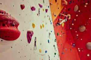 klatrevæg er den sjove oplevelse for alle aldersgrupper