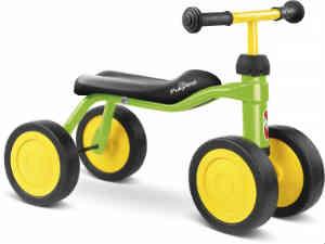 den sikre puky med 4 hjul er god til 1 årige