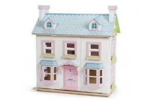 små piger elsker dukkehuse hvilket gør det til en perfekt julegaveide