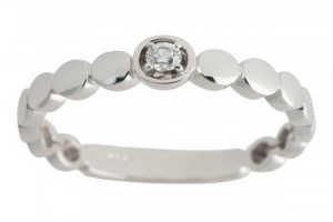 køb en diamantring i julegave til hende som den romantiske gave