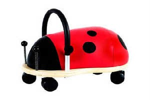 Wheely bug mariehøne er en populær gaveide