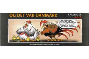 giv den sjove og det var Danmark kalender 2016