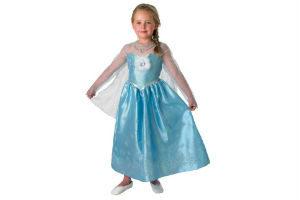 giv frozen prinsessekjolen til pigen i gave