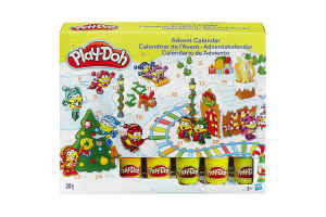 giv den sjove modellervoks julekalender til barnet
