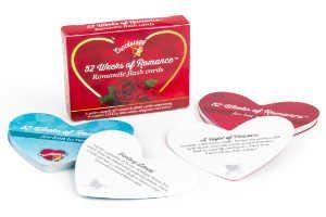 giv gavesættet med romantiske kort som den søde romantiske bryllupsgave
