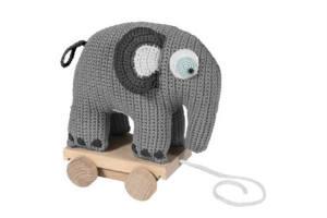 giv babyen en hæklet elefant i gave