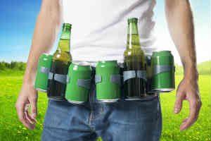 giv det tosset ølbælte til manden