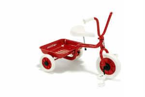 en trehjulet er en af de mange dåbsgaver ønsker