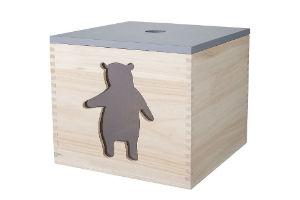 Køb en opbevaringskasse i gave til børneværelset
