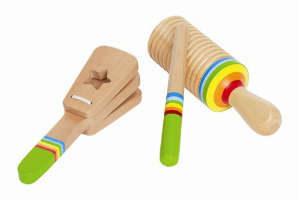 køb et rytmesæt fra Hape i gave til barnet