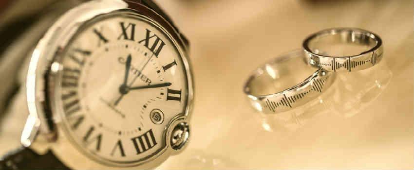 køb ur og smykker som morgengave