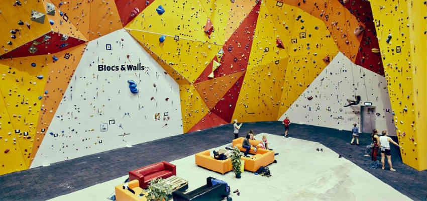 Prøv klatring oplevelse ved Blocs & Walls København