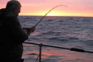 giv ham en fisketur i gave
