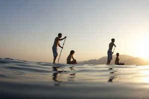 supsurfing er populært blandt unge mænd som oplevelse