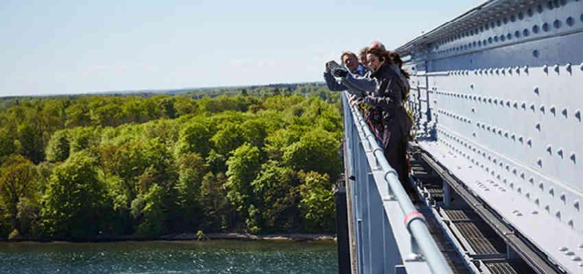 giv den sjove bridgewalk oplevelse i gave