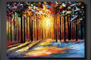 Køb det flotte maleri som mindeværdig bryllupsgave