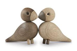 Køb de romantiske Kay Bojesen duer som romantisk gave til et par