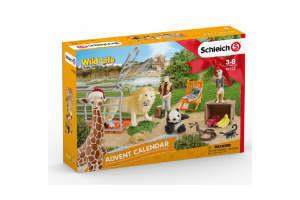Køb den tyske Schleich julekalender med dyr