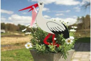 en sød stork til hjemkomsten vil være den søde gaveide
