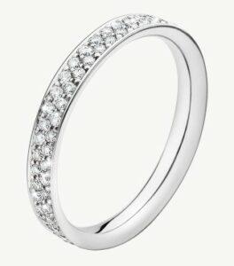 MAGIC Ring i 18 kt. hvidguld