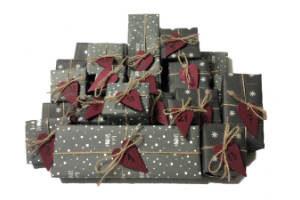 giv en julekalender med kaffe i gave