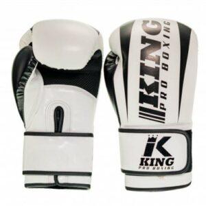 King pro boksehandsker hvid/sort