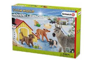 Køb en julekalender med dyr