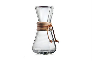 Køb den populære Chemex kaffebrygger i gave