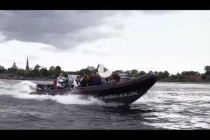 giv den fede rip tur oplevelse på Øresund