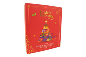 Giv hende English Tea Shop julekalender med te