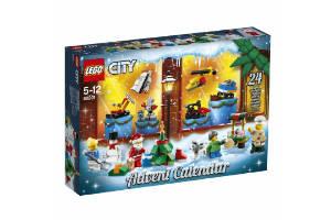 køb en Lego City julekalender til drenge