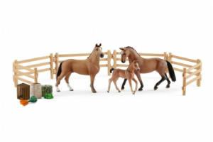 Giv pigen det sjove Schleich hestelegetøj i gave