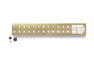Giv den lækre Simply Chocolate kalender til forældre