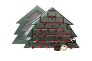 lav hjemmelavet julekalender med chokolade