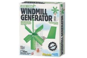 Køb Vindmølle Generator eksperiment sæt i gave til 5+
