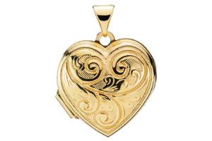 guld-hjerte-medaljon